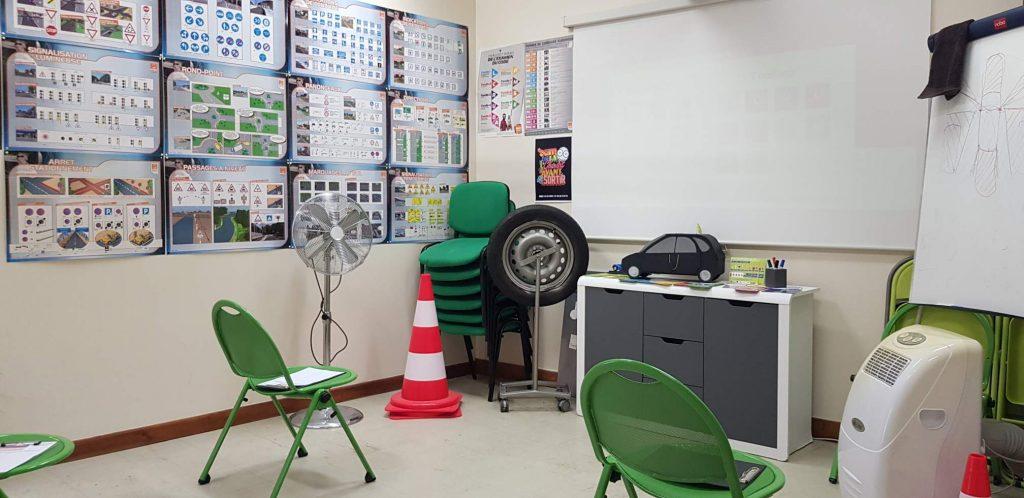 salle de code auto école central Troyes